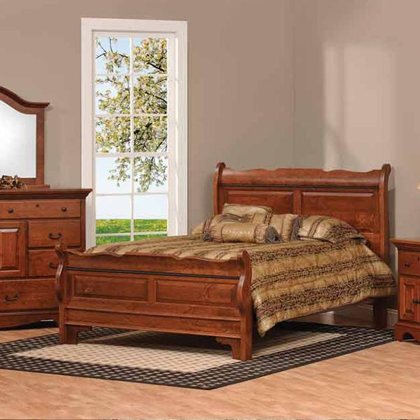 Merlot Bedroom Suite In Bedroom Amish Furniture