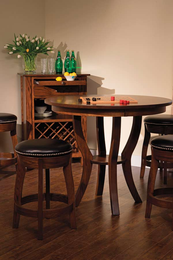 Dillon Bistro In Dining Tables By Northern Hardwood Tables