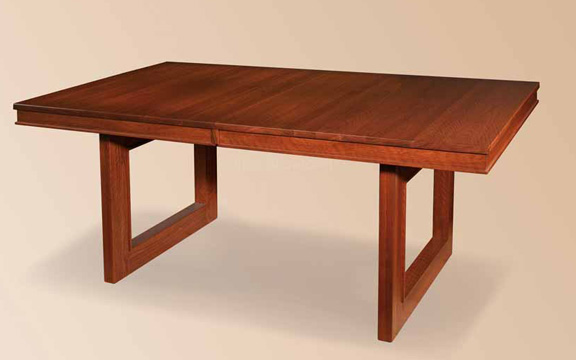 Kalispel table for 1 in dining tables amish for Table th 00 02