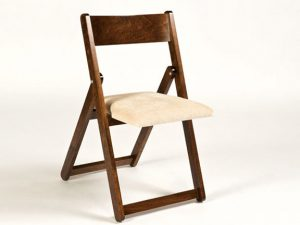 solid wood folding chair