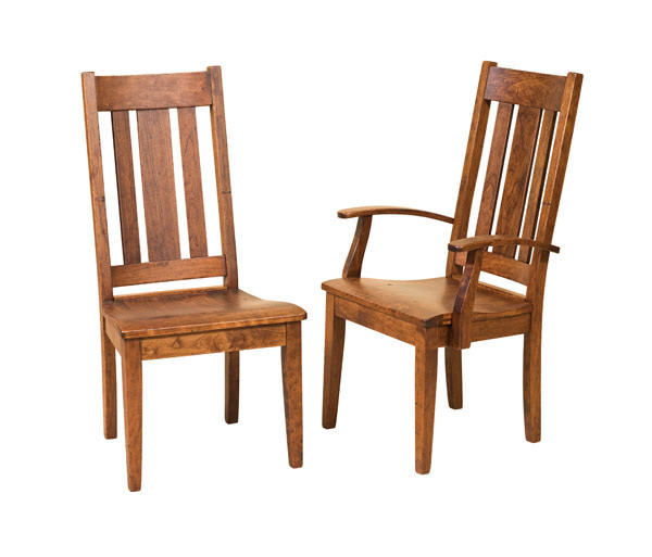 Jacoby Side Chair w and w/o Arms
