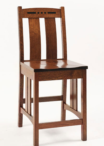 Colebrook Stationary Barstool