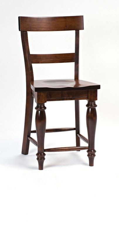 Harvest Barstool with Back