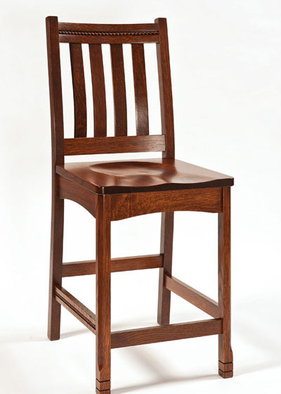 West Lake Stationary Barstool