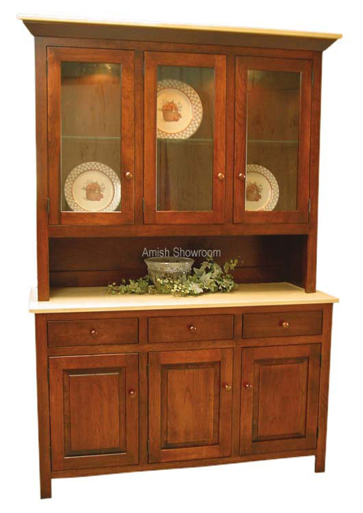 Brookline Hutch- shown in 3 door