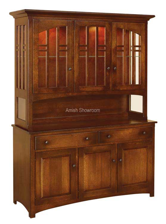 Cascade Hutch- shown in 3 door