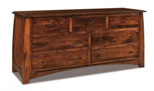Boulder Creek 7 Drawer Dresser 072