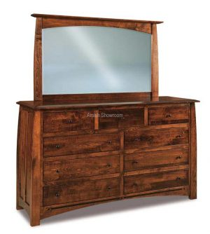 B. Creek 9 Drawer Dresser JRBC-073 mirror extra
