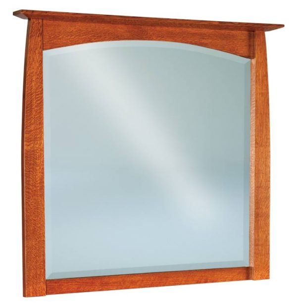 Boulder Creek Beveled Arch Mirror 048