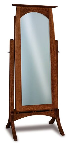 Boulder Creek Beveled Jewelry Mirror 056