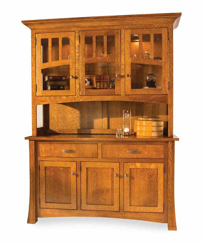 brown kitchen cabinets arlington hutch for 2 400 00 in dining room amish furniture 1832