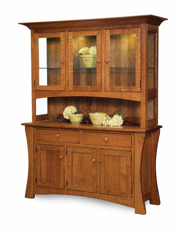 Arts and Crafts Hutch 3 door