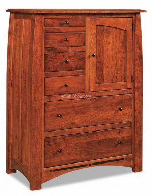 Boulder Creek Gentlemans Chest - Amish built solid wood
