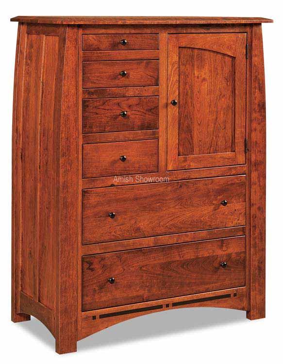 Boulder Creek Gentlemans Chest - Amish built solid wood