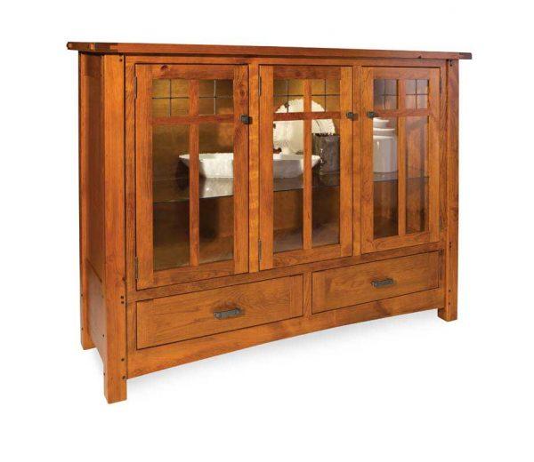 Brunswick High Buffet- shown in 3 door 3 drawer