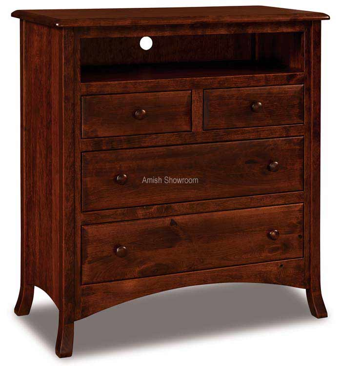 Carlisle 4 Drawer Media Chest 032-2