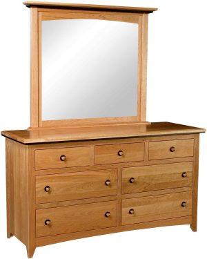 Classic Shaker 7 Drawer Dresser
