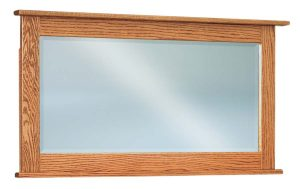 Shaker Beveled Square Chest Mirror JRS 036