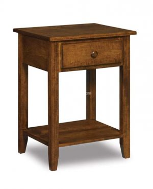 Shaker 1 drawer Open Nightstand JRS 019