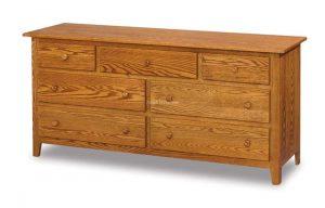 Shaker7 Drawer Dresser JRS 068