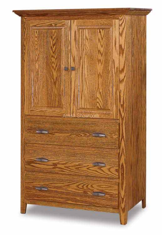 Shaker Armoire 3 Drawers 2 Doors JRS 041-3