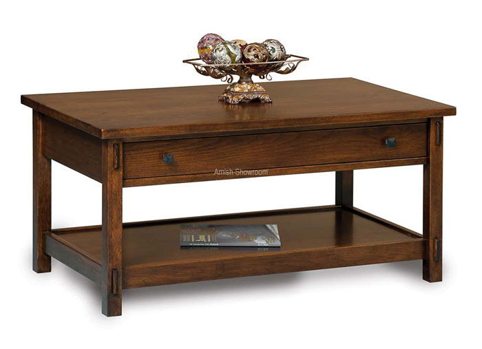 Centennial Coffee Table with drawer FVCT-CN