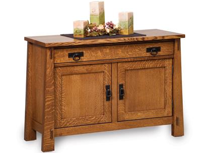 Modesto Enclosed Sofa Table FVST-MD-EN