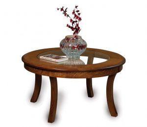 Sierra Glass-top Coffee table FVCT-38RGT-SR