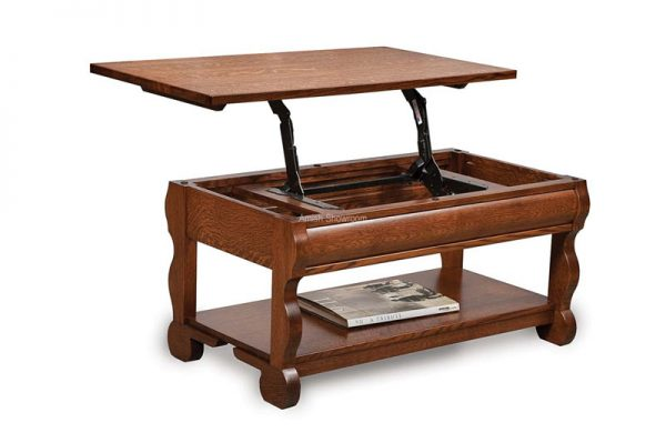 Old Classic Sleigh Lift-top Coffee table FVCT-OCS-LT