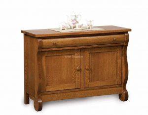 Old Classic Sleigh Enclosed Sofa Table FVST-OCS-EN