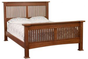 Brooklyn Mission Slat Bed