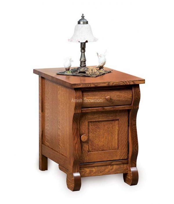 Old Classic Sleigh Enclosed End Table FVET-OCS-EN