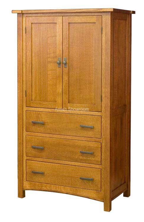 Brooklyn Mission Armoire 3 Dr.