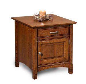 West Lake Enclosed End Table FVET-WL-EN