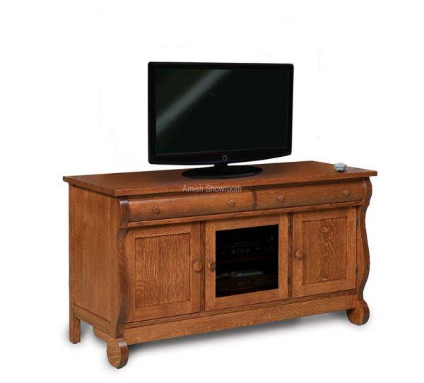 Old Classic Sleigh Media Stand FVE-043-OCS-BP