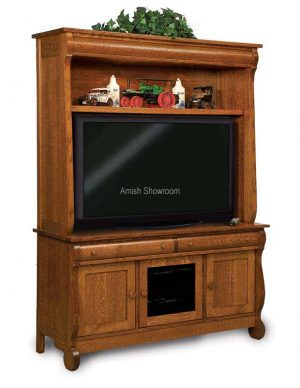 Old Classic Sleigh Two-Piece Media Cabinet FVE-043-OCS