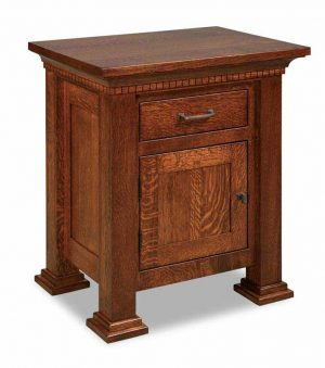 Empire 1 Drawer 1 Door Nightstand 022