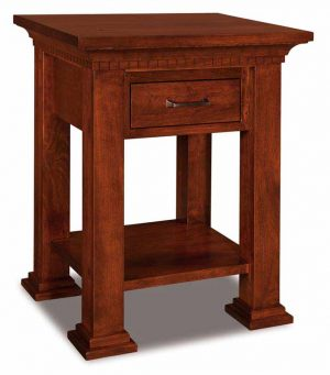 Empire 1 Drawer Open Nightstand 019
