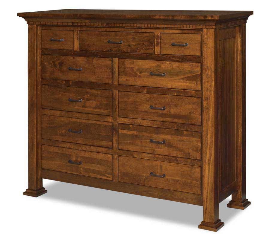 Empire 11 Drawer Double Chest 055