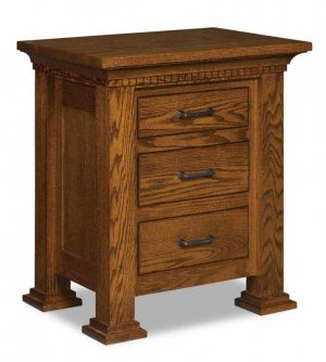Empire 3 Drawer Nightstand 021