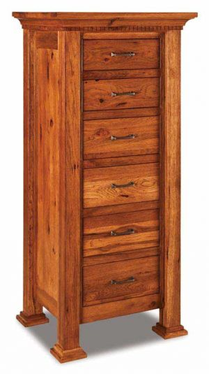 Empire 6 Drawer Lingerie Chest JRE 024