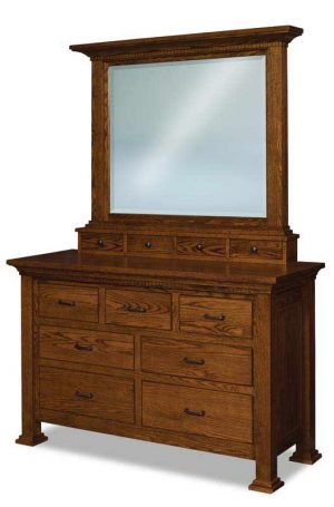Empire 7 Drawer Dresser JRE 059
