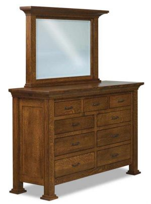 Empire 9 Drawer Dresser JRE 057