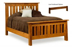 Freemont Mission Slat Bed FR SB Q