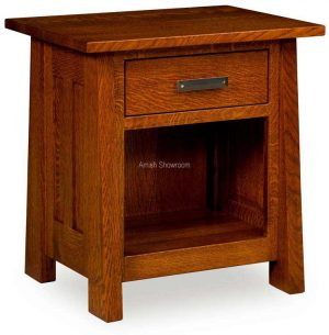 Freemont Mission 1 Drawer Nightstand FR 271D