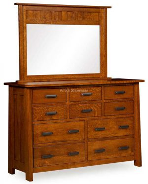 Freemont Mission 10 Drawer Dresser FR 6510D