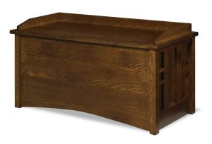 Kascade Blanket Chest  in quarter sawn white oak