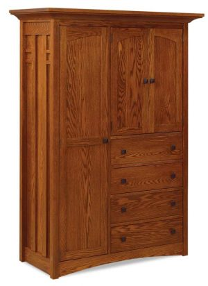 Kascade Chifferobe 4 Drawers, 3 doors