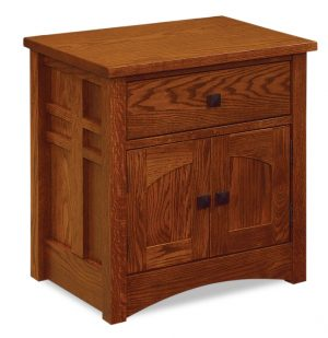 Kascade 1 Drawer 2 Door Nightstand JRK 026