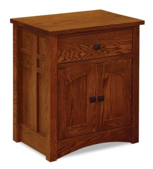1 Drawer 2 Door Nightstand JRK 028